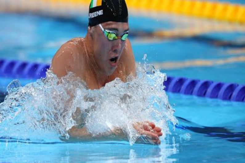 Darragh Greene closes out his first Olympics