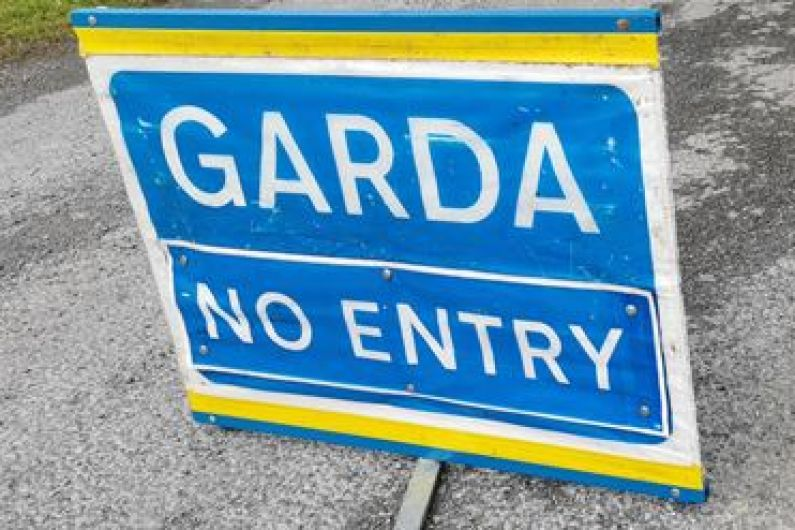 Overturned lorry blocks Castlecara road at Carrick-on-Shannon