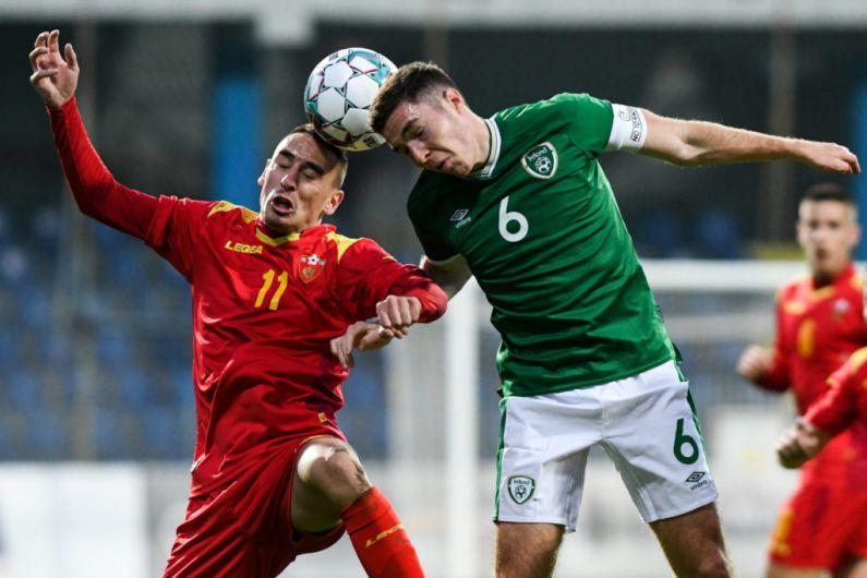 Irish U21's lose to Montenegro