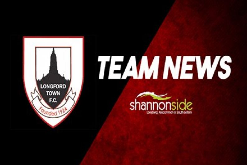 Perth returns to Dundalk to face Longford Town