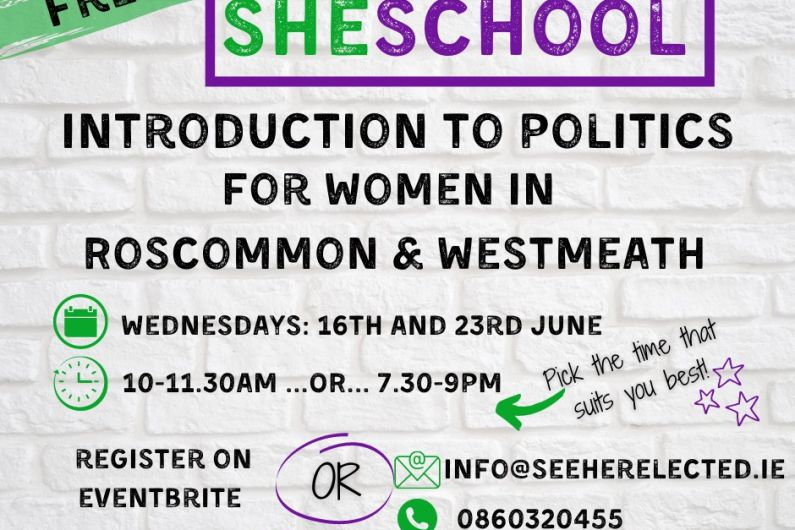 Roscommon women encouraged to join local political course