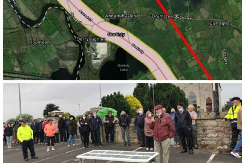 LISTEN: Annaduff locals come out in force to oppose N4 by-pass project