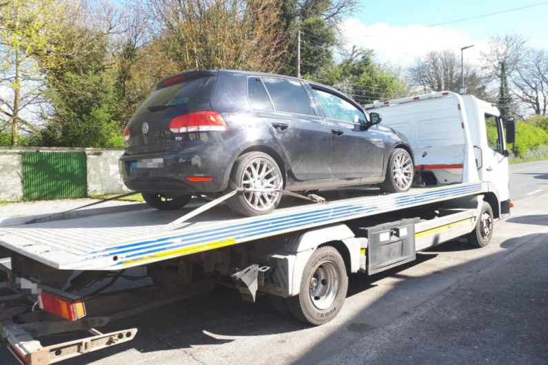 A motorist in Athleague had no driving license or insurance