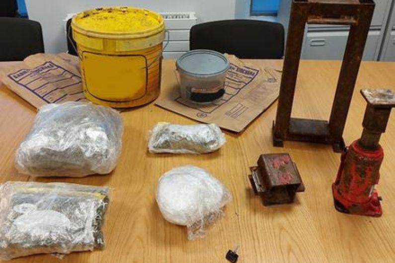 Man charged following a major drugs seizure in Ballinasloe