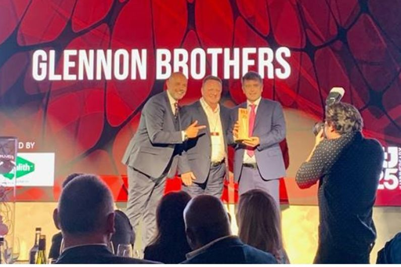 Glennon Brothers win Award for third consecutive year
