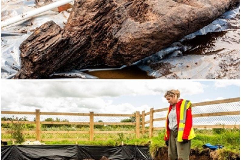 LISTEN: Ancient pagan idol found in Roscommon bog