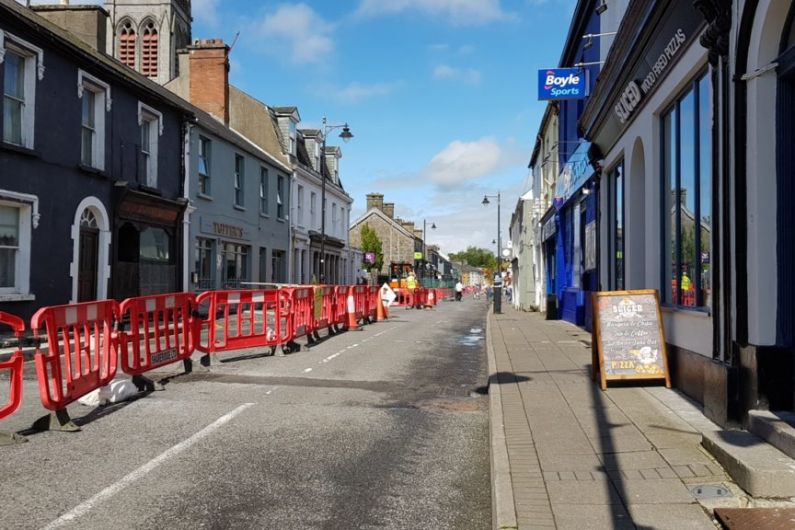 Council confirms end date for Carrick-on-Shannon street works