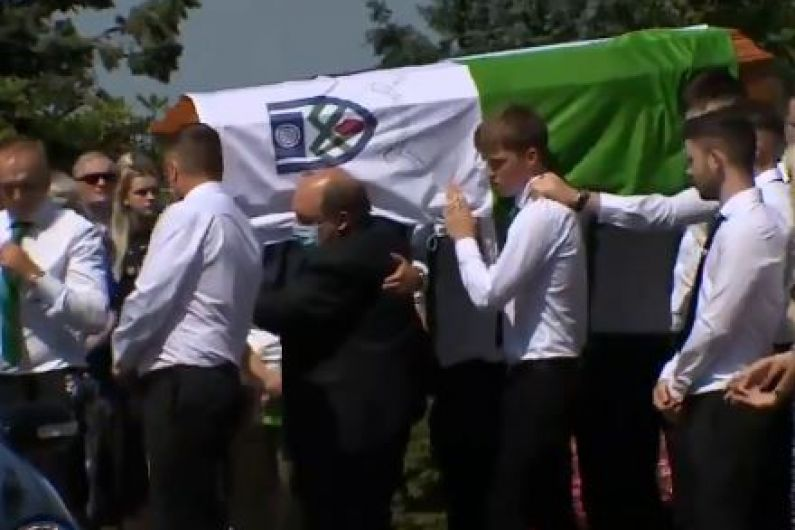 Hundreds pay respects at funeral of Monaghan footballer
