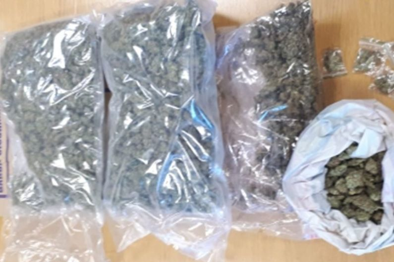 Woman arrested after seizure of €48,000 worth of cannabis in Longford