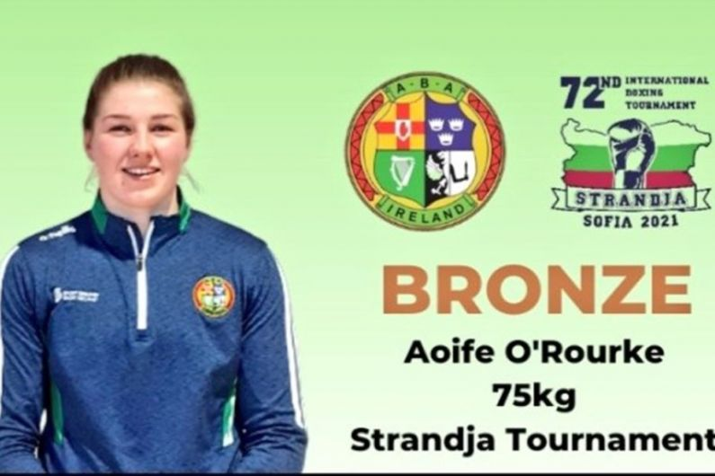 O'Rourke Has To Settle For Bronze In Sofia