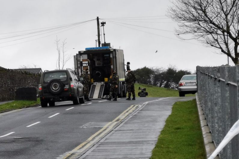 Granard housing estate remains sealed off following discovery of suspicious device
