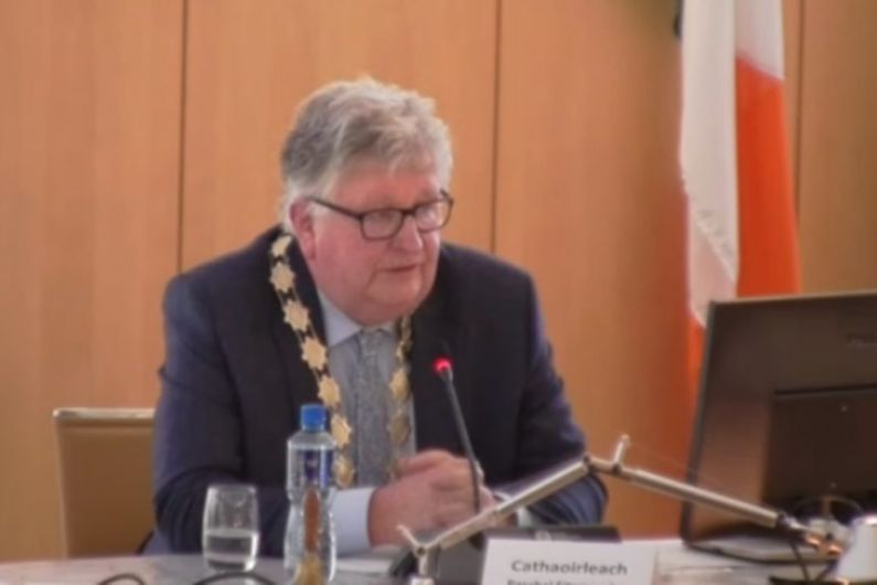 Laurence Fallon elected as new Cathaoirleach of Roscommon County Council