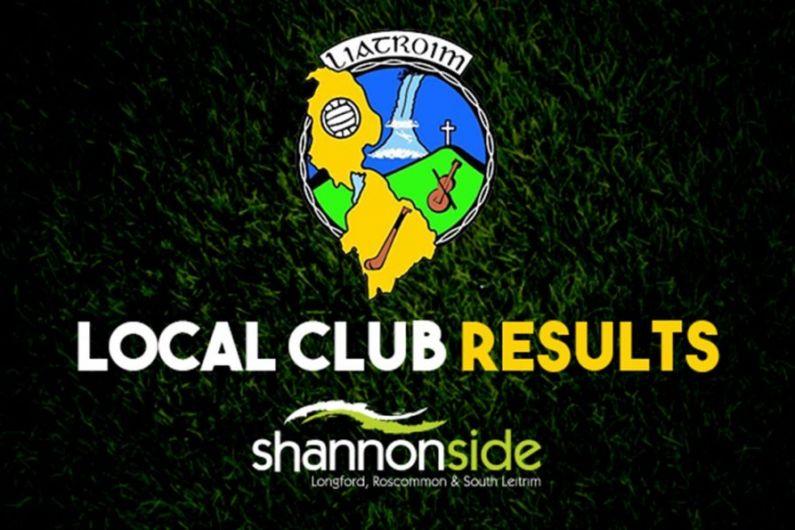 Leitrim club results weekending September 12