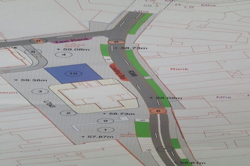 Installation of new footpaths and lighting to take place in Phase 2 of Roscommon Public Realm