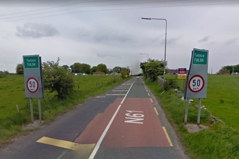 Design work on N61 Tulsk to Clashaganny to show land take required