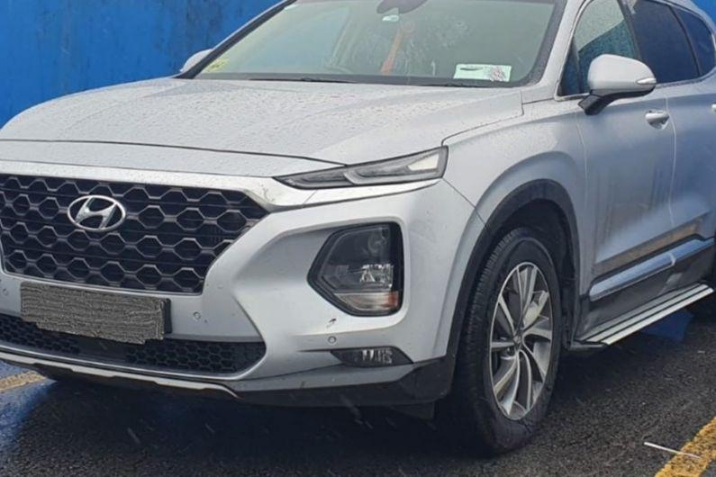 Car seized following CAB searches in Leitrim