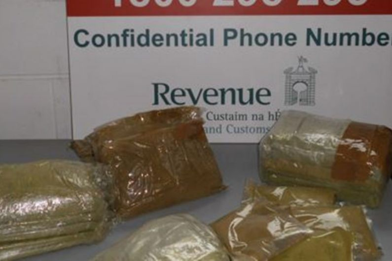 Drugs with an estimated value of over 33,000 euros seized at Athlone mail centre