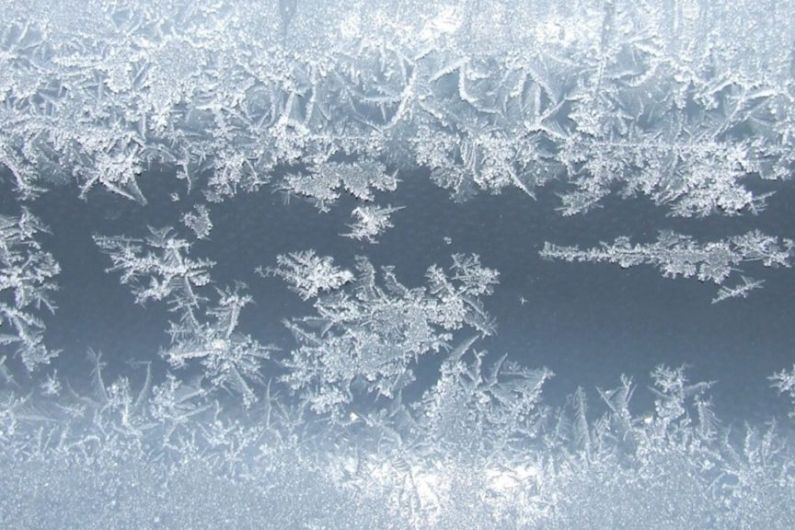 Status Yellow low temperature ice warning issued for Longford, Leitrim and Roscommon