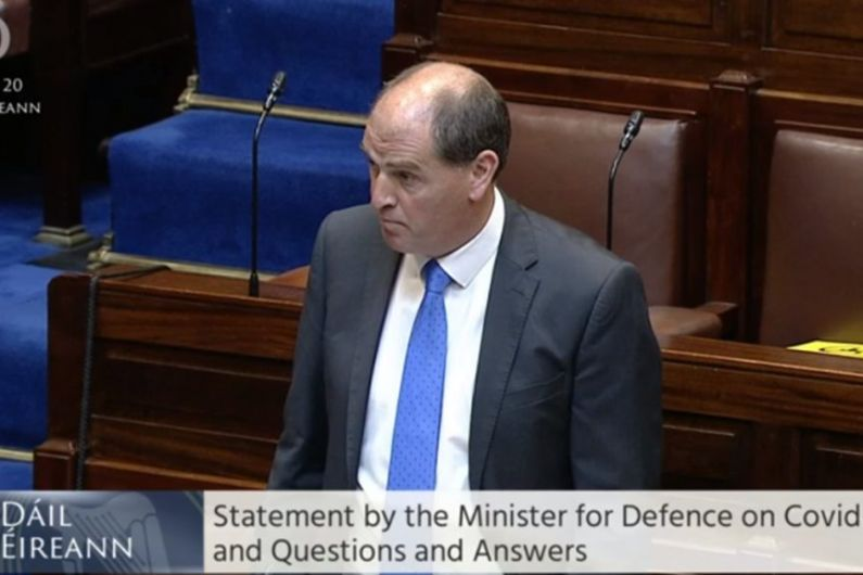 Defence Minister confirms receipt of interim report into door falling off Athlone-based air ambulance