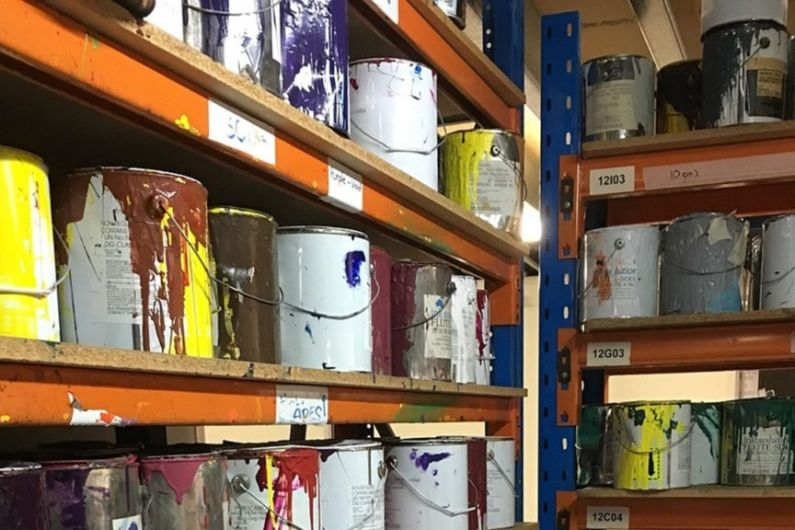 Roscommon council defends charge for paint tins disposal