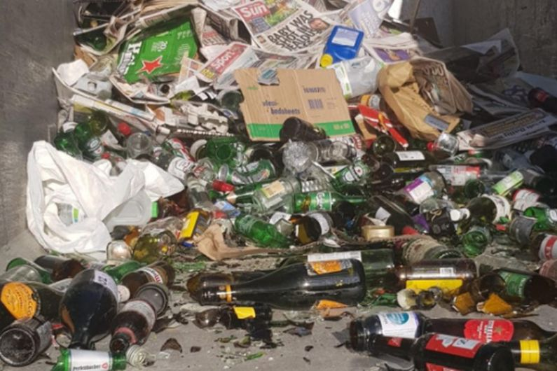 Tarmonbarry bottle banks closed due to contamination