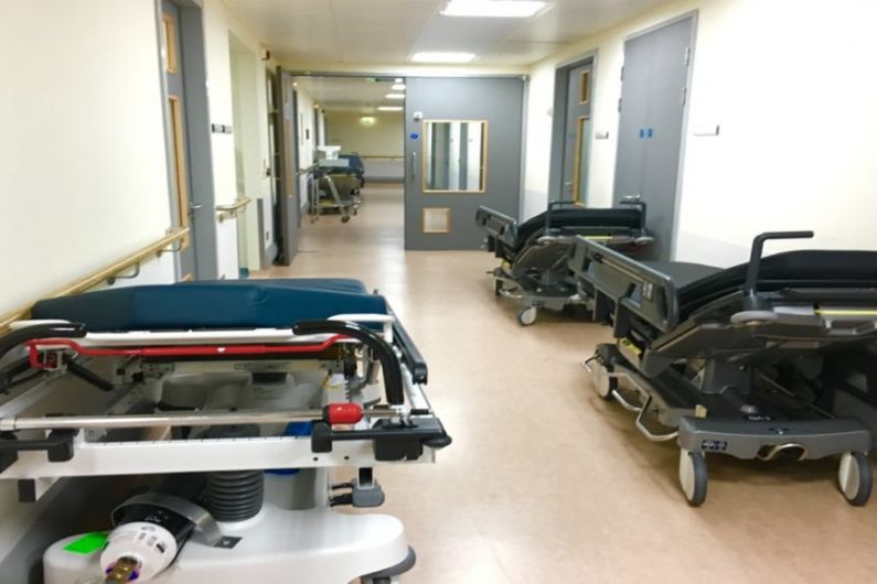 Over 50 patients waiting on trolleys locally today