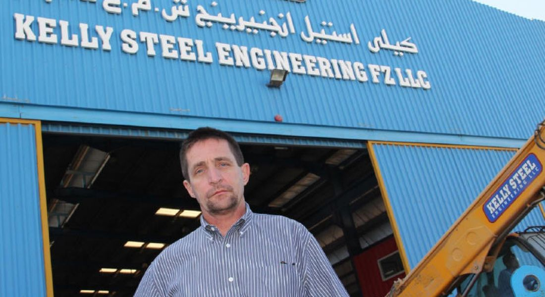 Irish firm Kelly Steel Engineering to create 70 jobs at Abu Dhabi airport