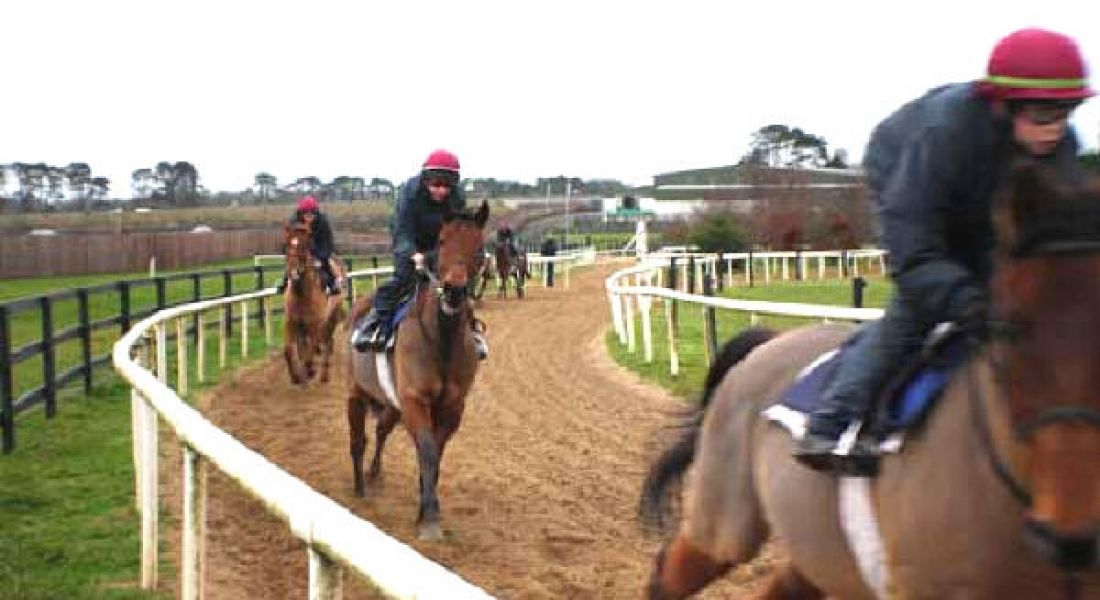 Jockey training course still in the RACE