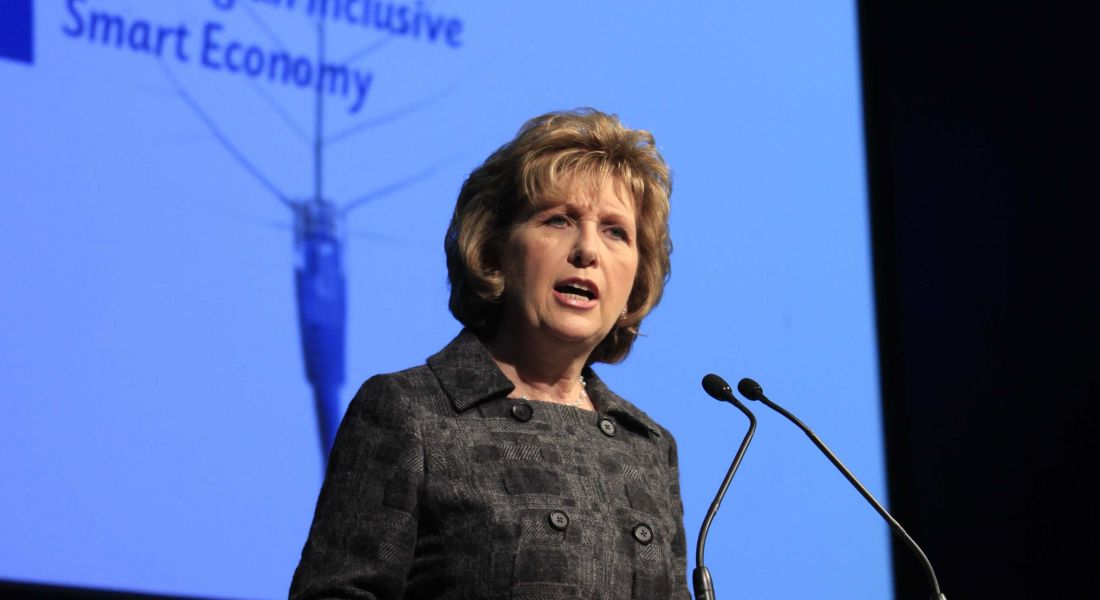 Jobs need to be earned, President McAleese says