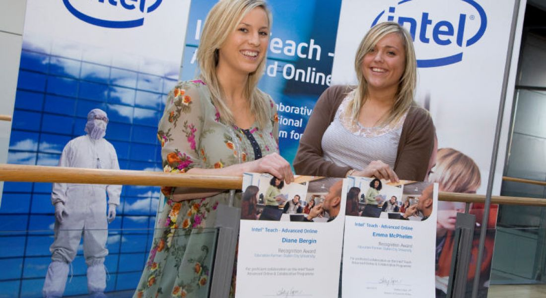 First round of Intel Teach graduates awarded
