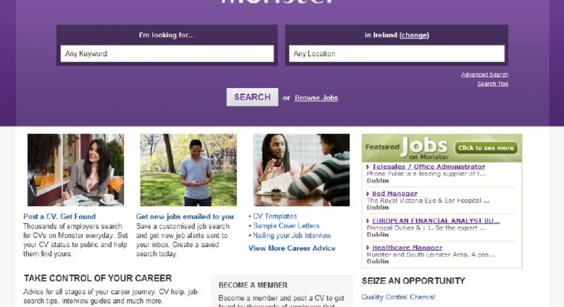 Monster reports 12pc annual growth in online job demand