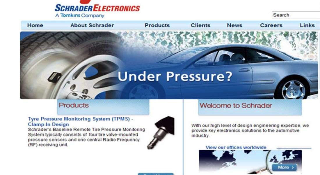Schrader Electronics to add 100 new jobs