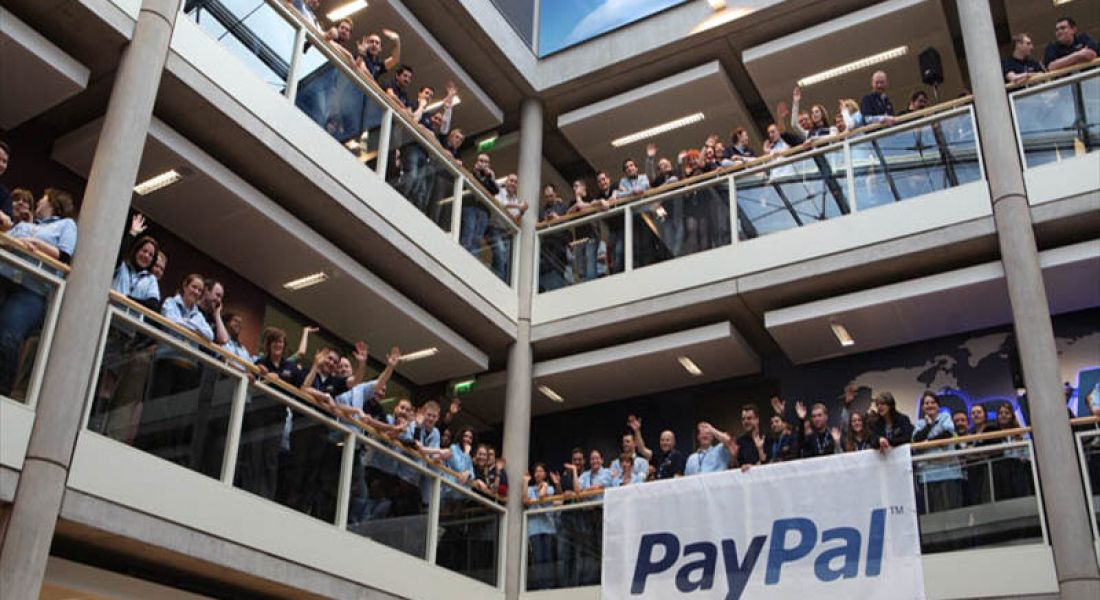 Paypal to create 150 jobs in Dublin