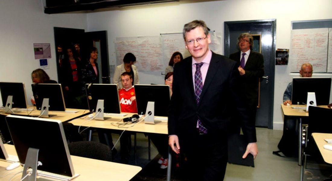 Dublin's Digital Skills Academy impresses EU Commissioner