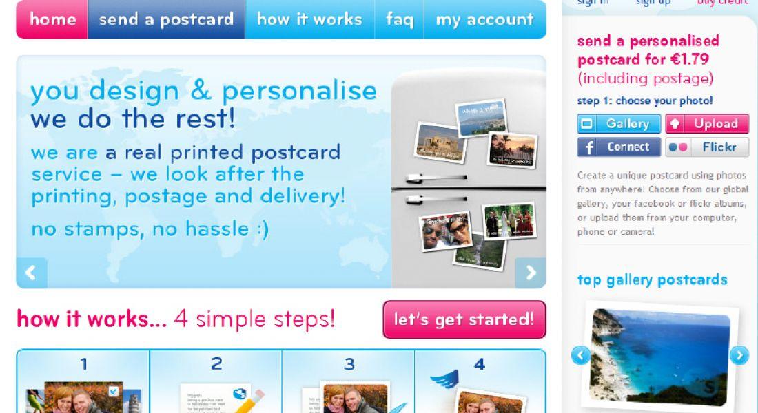 Start-up sendmypostcards.com to take on 10 people