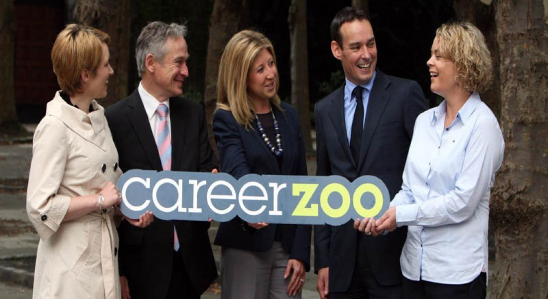 Minister Richard Bruton officially launches Career Zoo