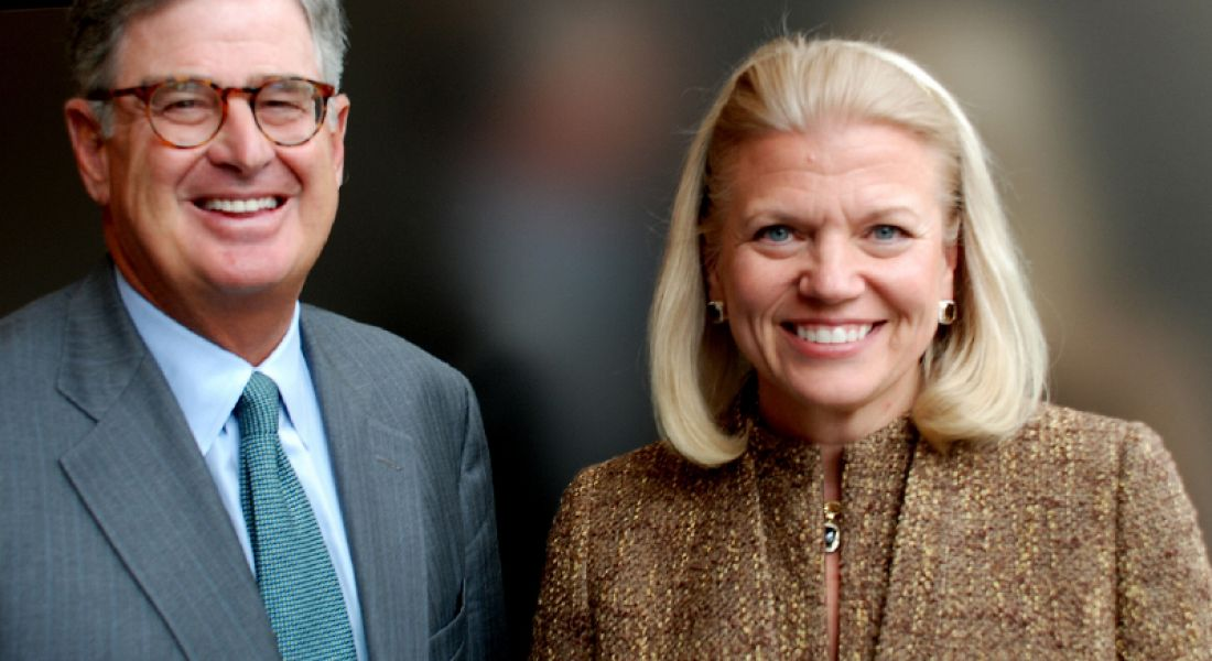 IBM appoints Virginia Rometty as president and CEO
