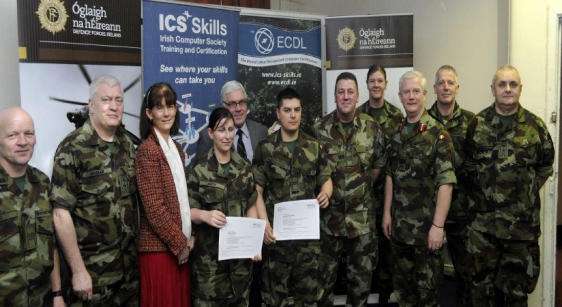 Irish Army to equip members with basic computer skills