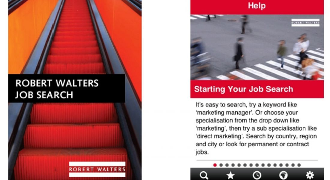 Robert Walters launches job search app