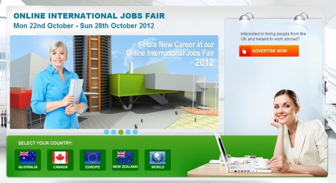 First Online International Jobs Fair goes live with 180 jobs