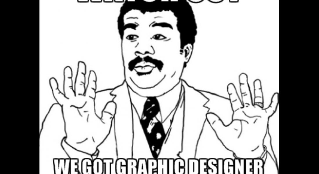 Career memes of the week: graphic designer