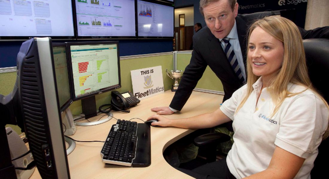 Taoiseach opens new Fleetmatics facility, company to increase number of software developers