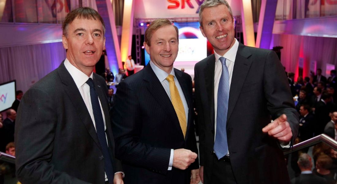 Taoiseach officially opens Sky's first Irish customer service centre, 800 jobs on way