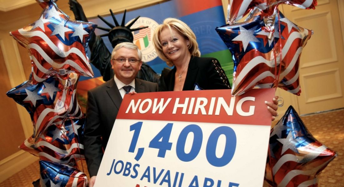 US companies in Ireland seeking to fill more than 1,400 positions