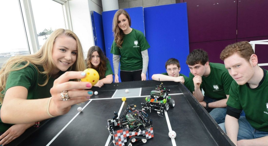 RoboRugby Competition tests UCD students' engineering skills