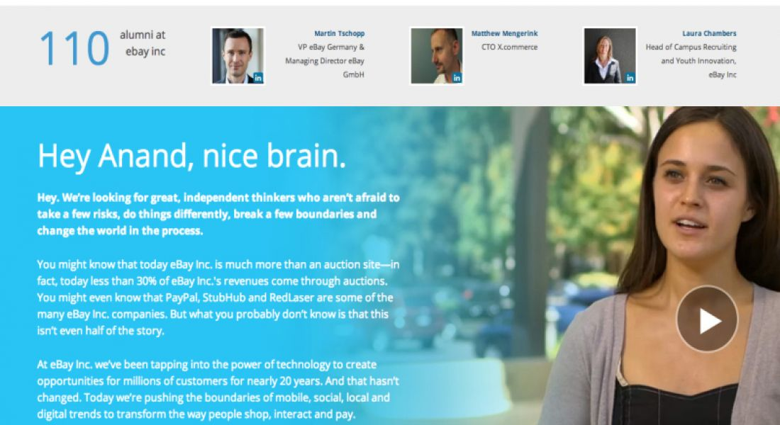 Ex-Google products chief launches social network for graduates and employers