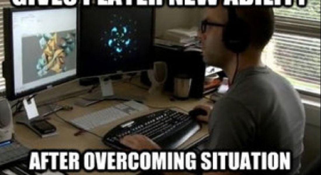 Career memes of the week: game developers