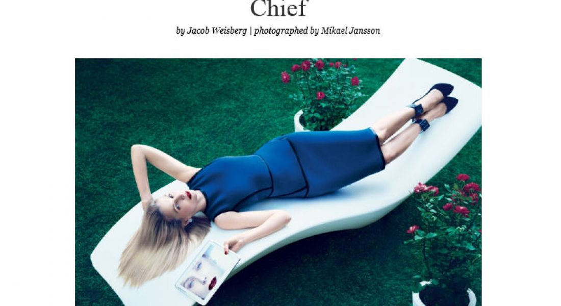 Yahoo! CEO Marissa Mayer tells Vogue about work-from-home ban and career success