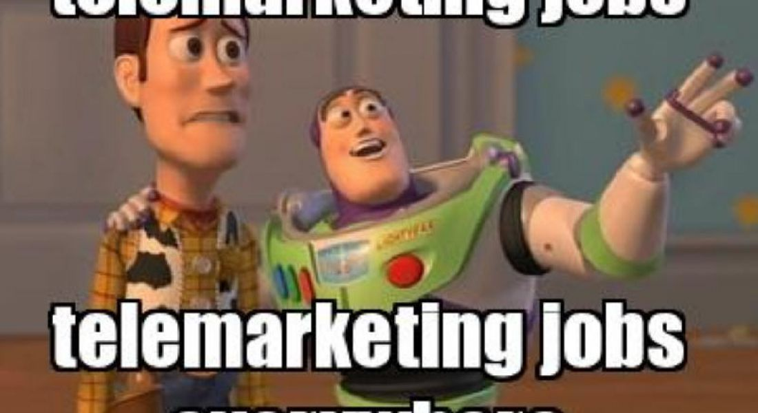 Career memes of the week: telemarketers