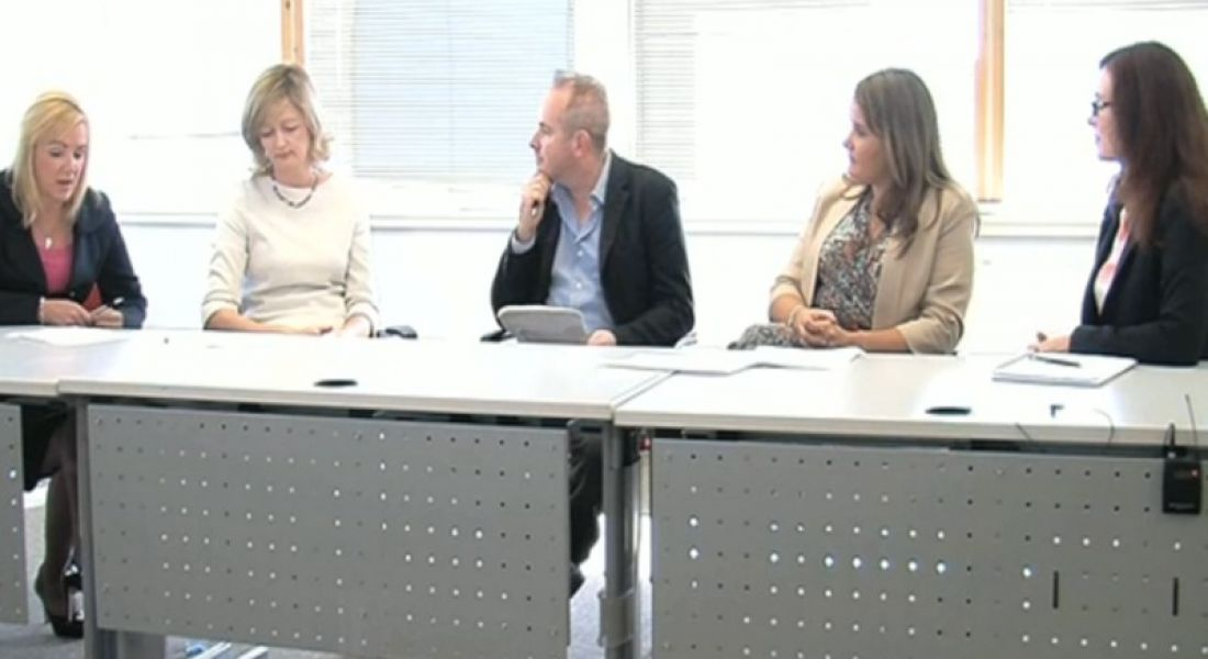 Roundtable: Women tech leaders on the talent imperative and encouraging girls into technology careers (video)